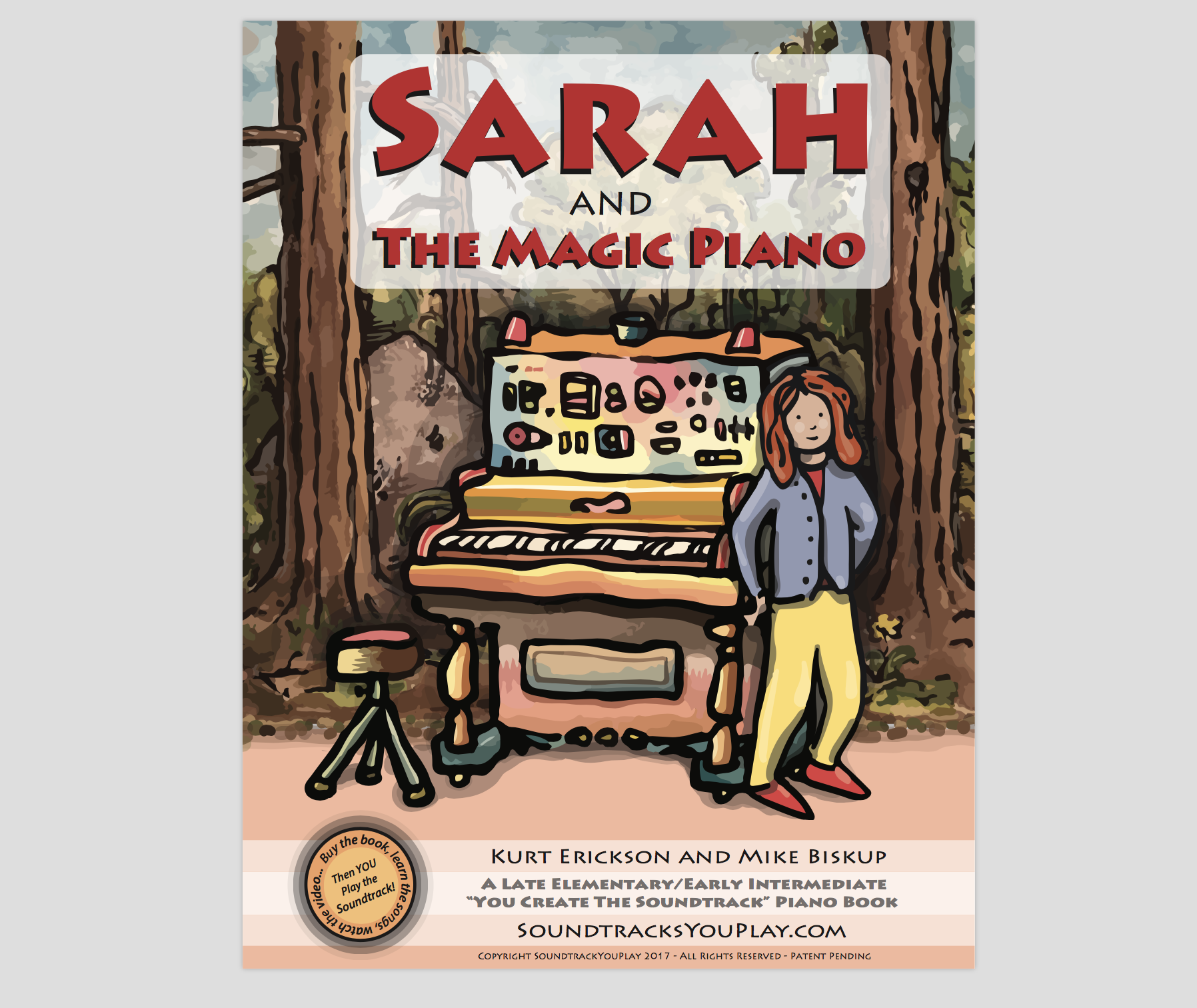 Sarah And The Magic Piano - Complete Book PDF
