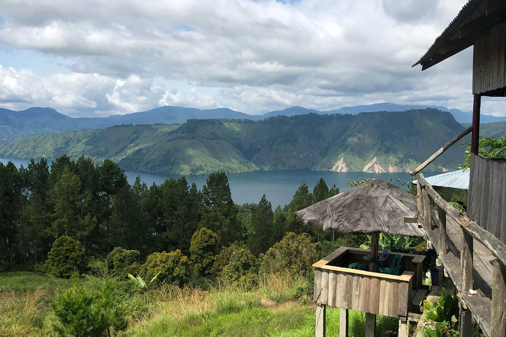 Lake Toba - Enjoy as close to perfect temperature and the green hills of Lake Toba.