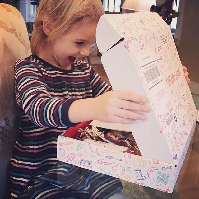 "Copy of ""Every box is better than the last! To say she was excited is an understatement!"" —Yorda, nanny"