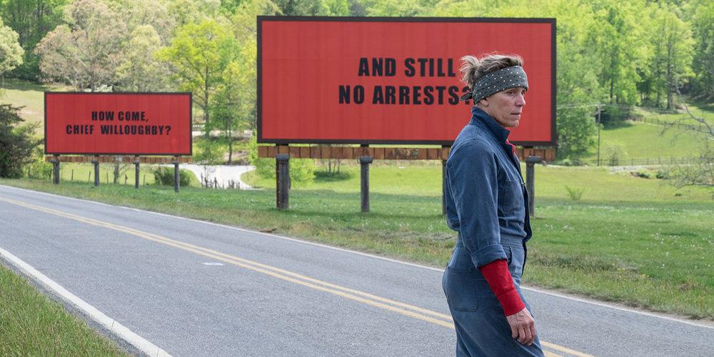 Three Billboards Outside Ebbing, Missouri - dir. Martin McDonagh