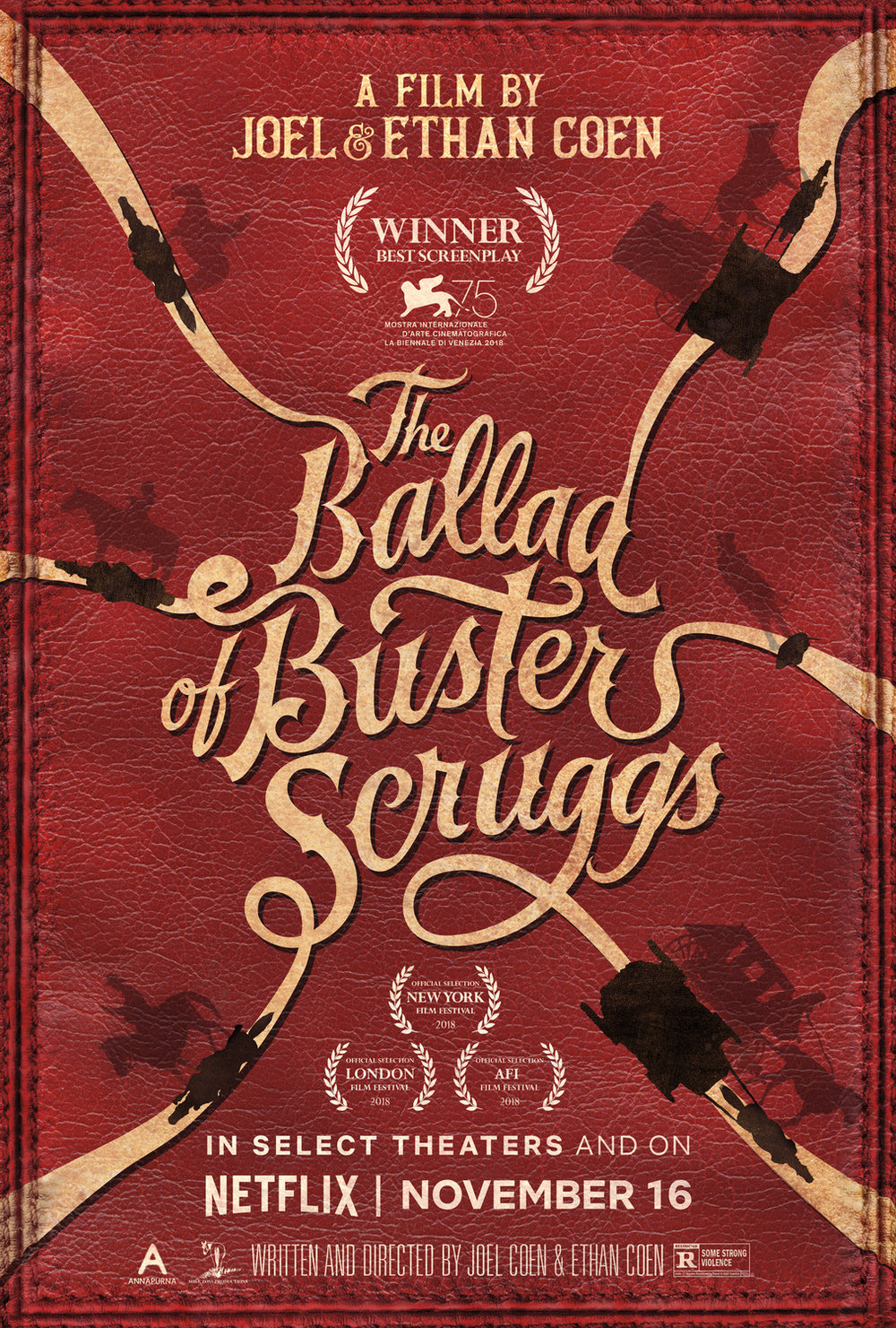 12. The Ballad of Buster Scruggs - dir. The Coen Brothers