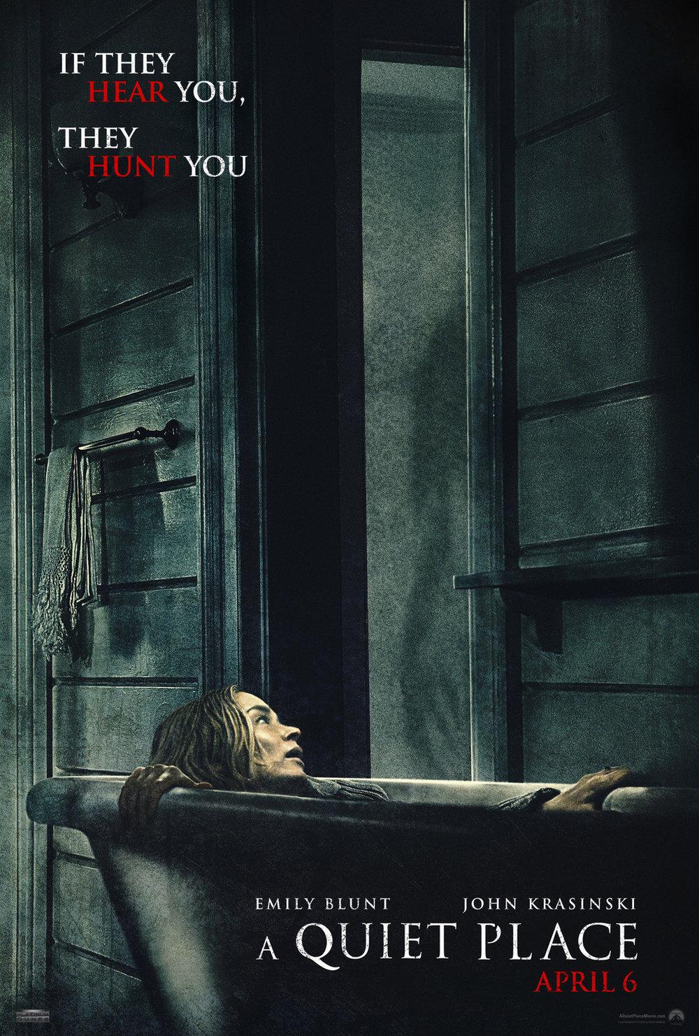 6. A Quiet Place - dir. John Krasinski