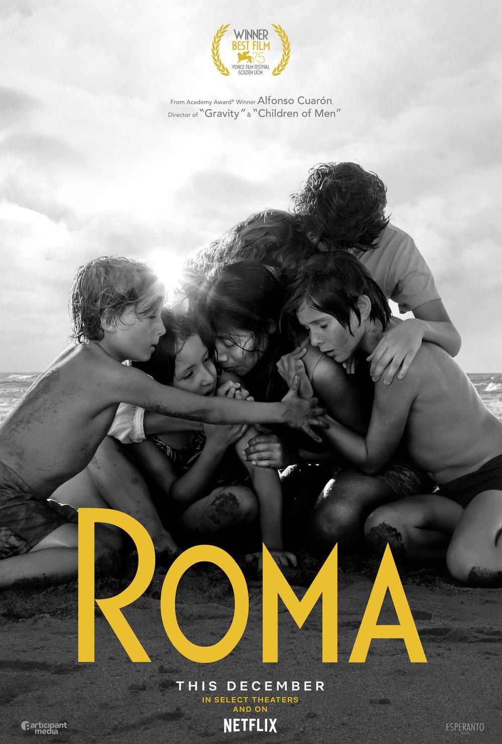 5. Roma - dir. Alfonso Cuarón