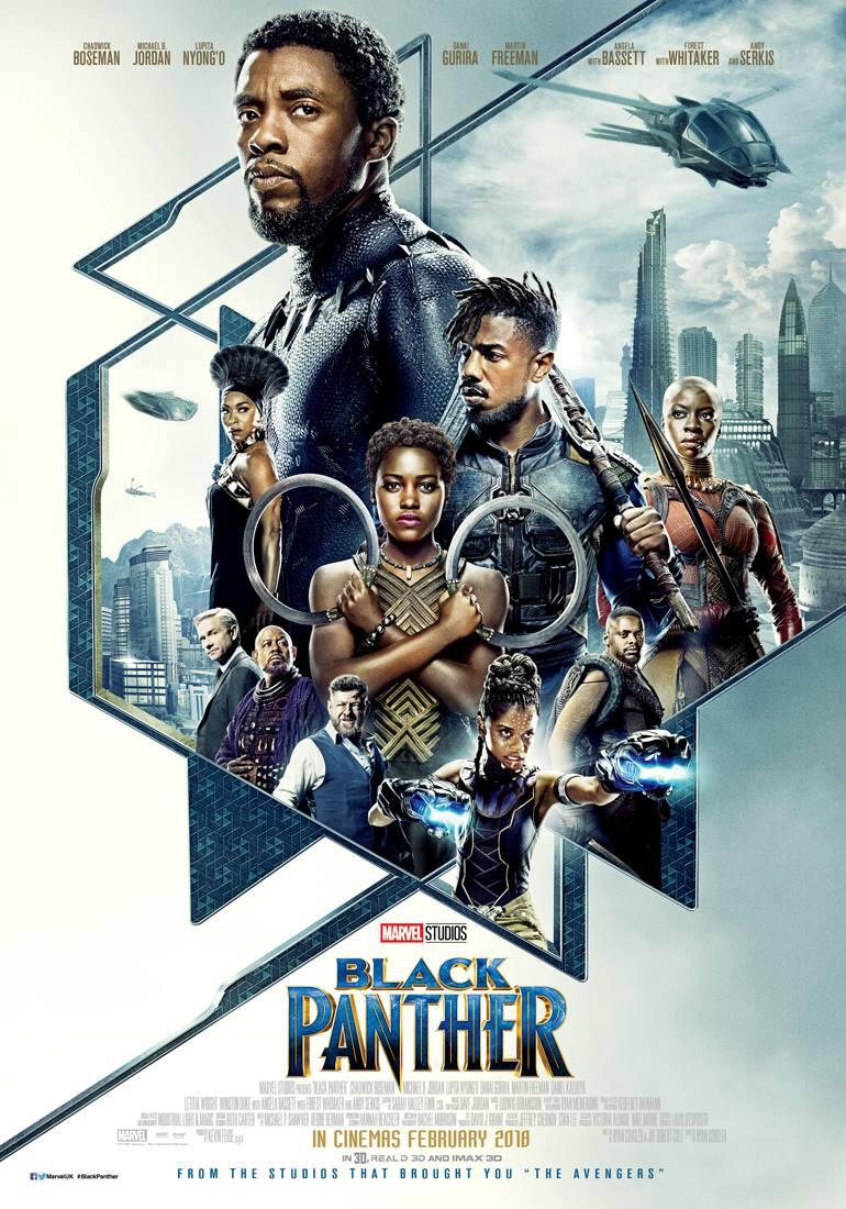 3. Black Panther - dir. Ryan Coogler