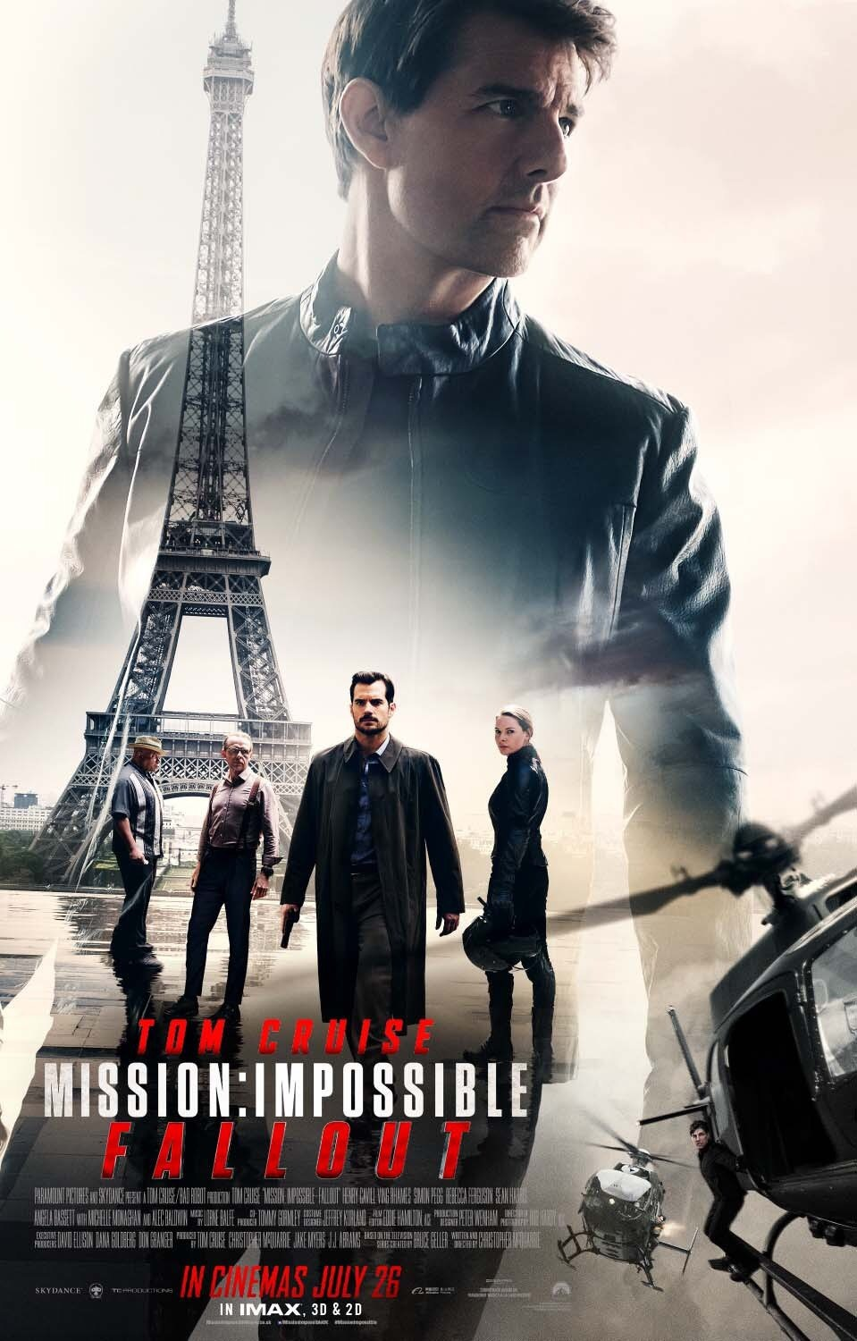 1. Mission: Impossible - Fallout - dir. Christopher McQuarrie