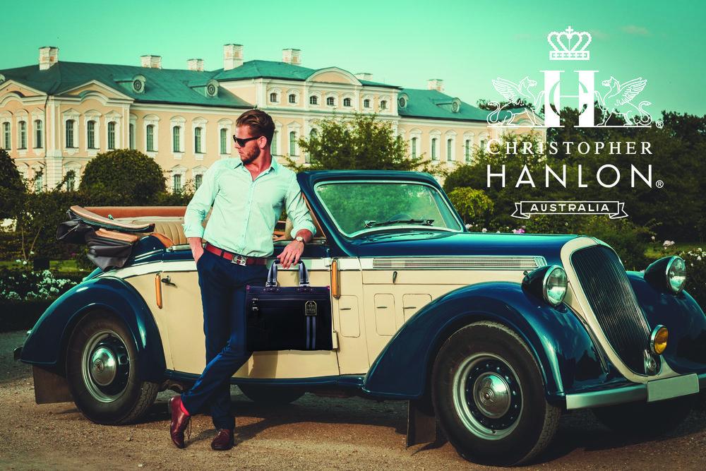 CHRISTOPHER HANLON® BESPOKE BAG $9,155 AND BESPOKE PERFUME No.44 $2,500