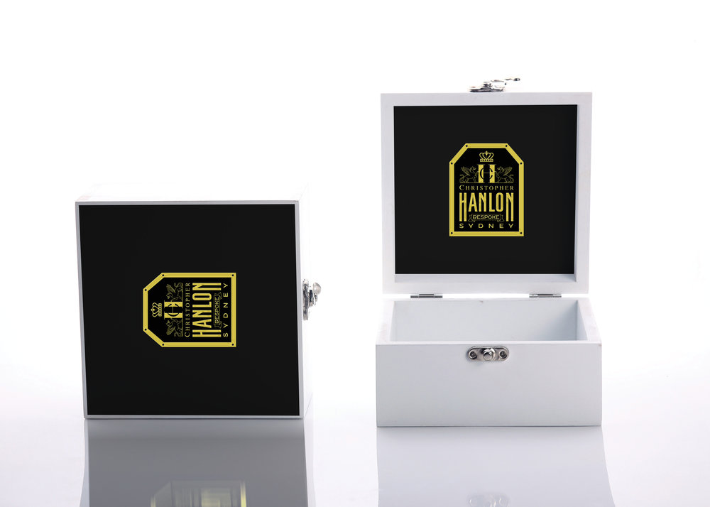 BESPOKE LAQUERED WOODEN PERFUME BOX
