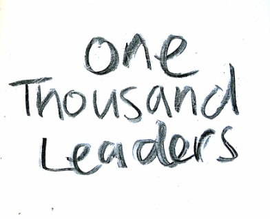 One Thousand Leaders
