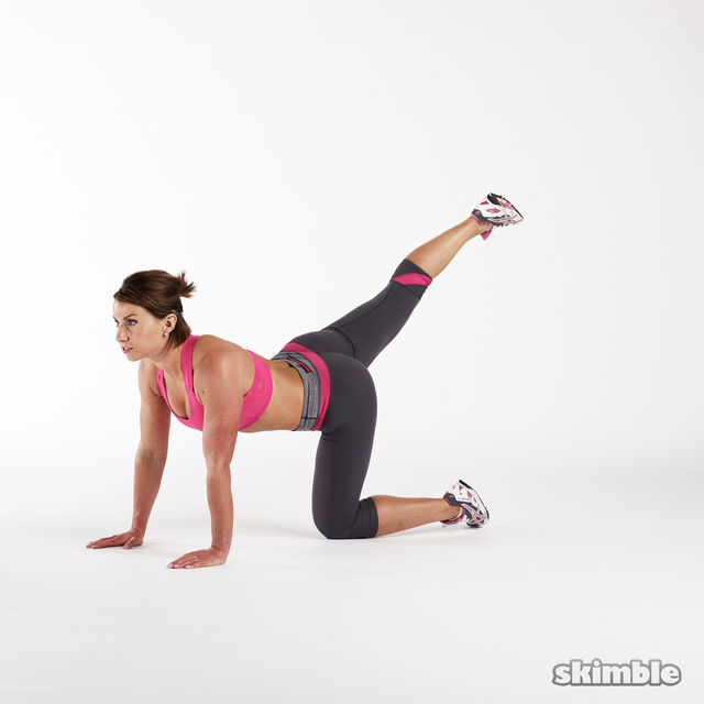 Insta Style Glute KickBacks:  Ammmmmm I'm afraid these just don't work gals. Although they look fantastic on Instagram the muscle activation is very poor and you will find it difficult to add any real weight to resist the movement. Scrap these and add in things like hip thrusts and squats for real exercises that will help develop your lower body and all important butt.