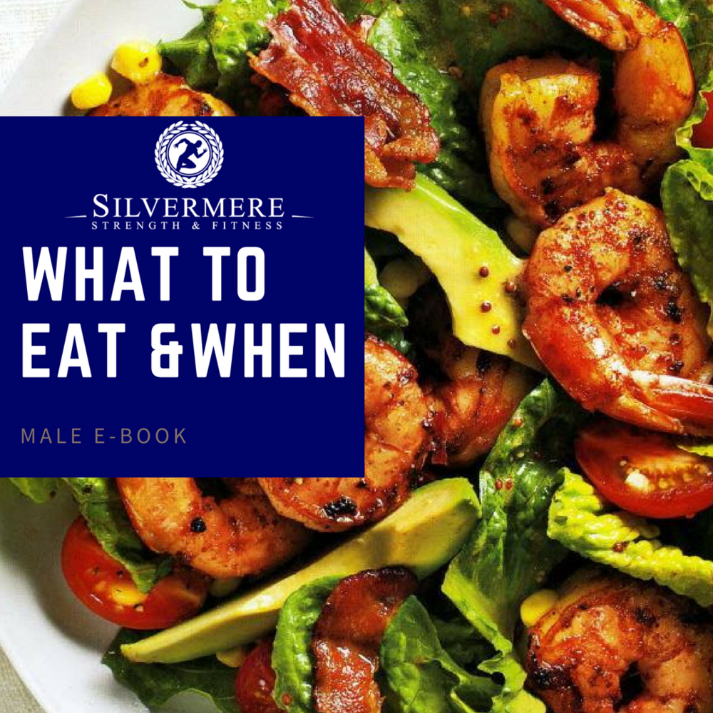 Male What To Eat & When E-BOOK