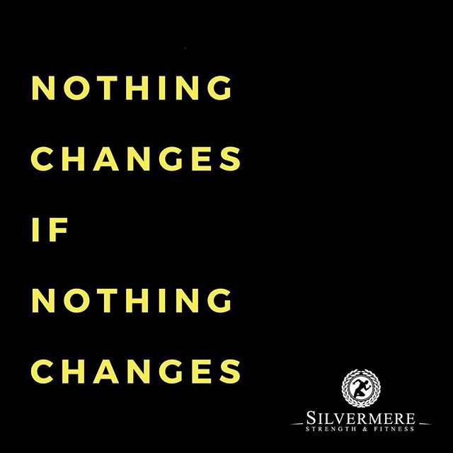 Ask yourself if what you are doing is enough to expect change ⁉️ • Are you moving enough ❓ • Are you eating for your goals ❓ • Are you training hard enough ❓ • Are your weekends ruining your progress ❓ • ▫️ ▫️ ▫️ ▫️ ▫️ #SilvermereFit #Cobham #Whey #Fitness #Results #Training #Strength #Esher #Surrey #Silvermere #Protein #Fit #Cardio #Abs #Progress #Sweat #Lift #Squat #Chelsea #Health #Wellness #Nutrition #Fitfam #Gyms #Technique