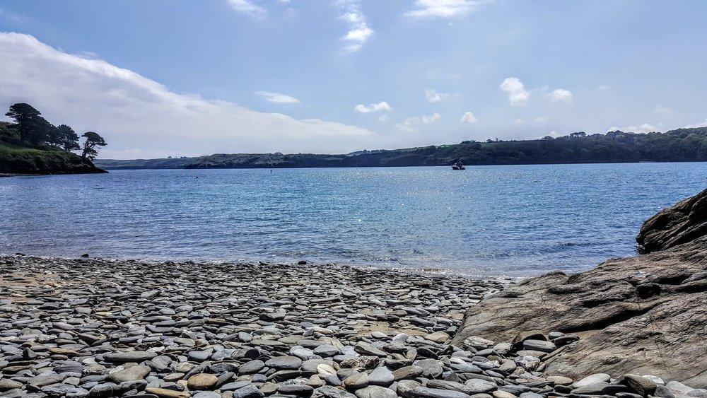 Porth Sawson beach