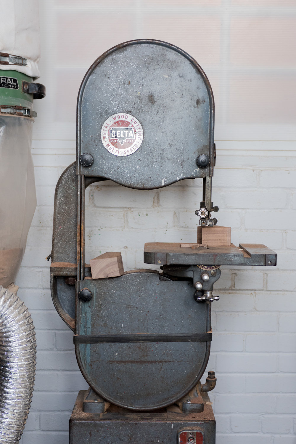 My trusty old band saw.
