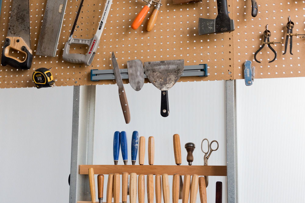 I have a large mashup of tools from all different times and places. I have a story and memory for almost everyone.