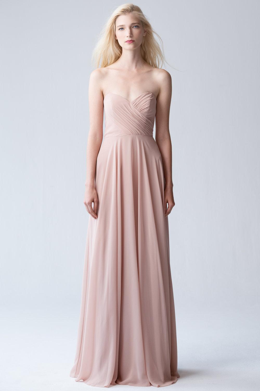Jenny Yoo Adeline Desert Rose Luxe Chiffon $415
