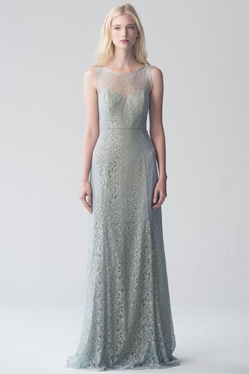 Jenny Yoo Jenna Morning Mist lace $500