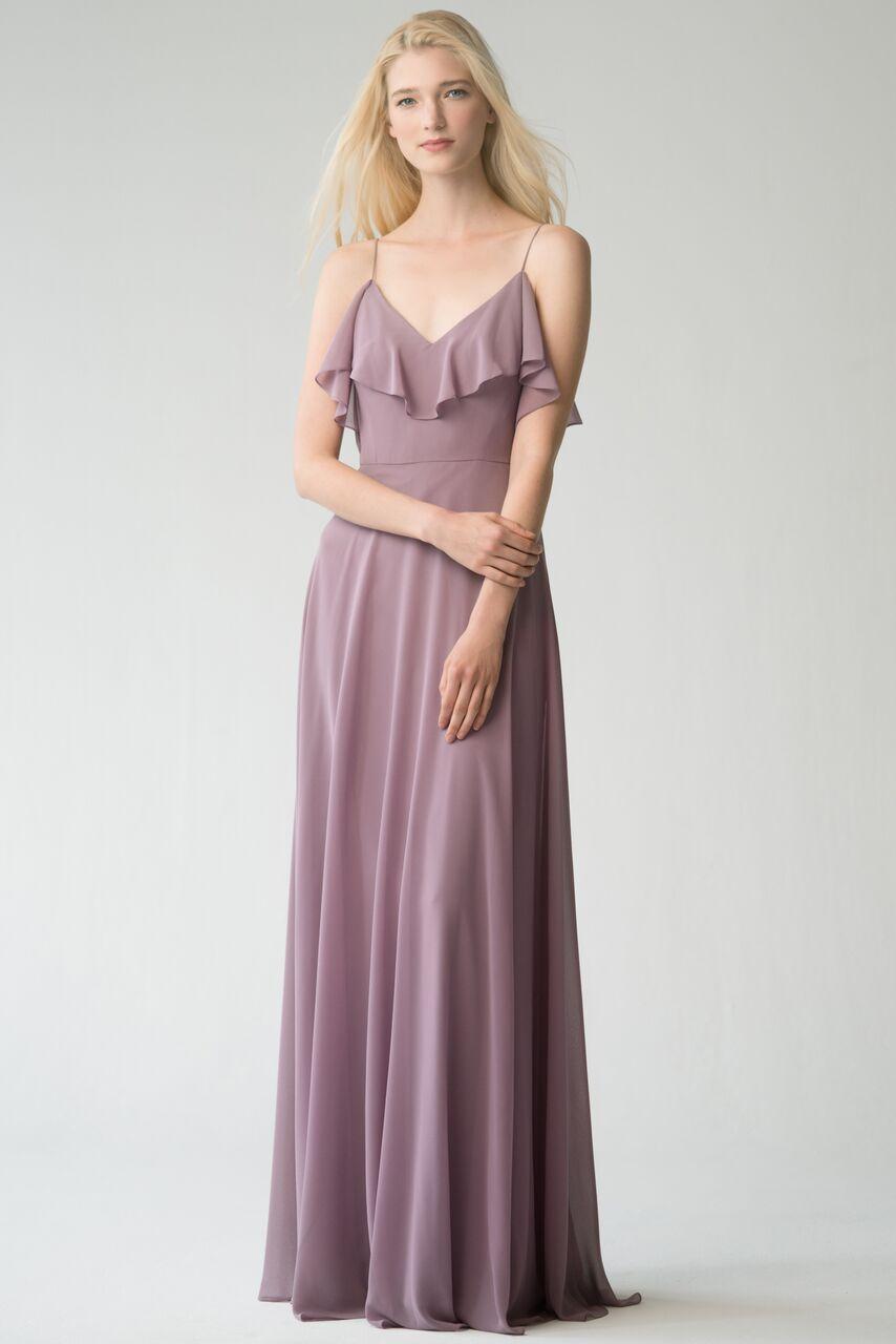Jenny Yoo Mila lilac luxe chiffon $415