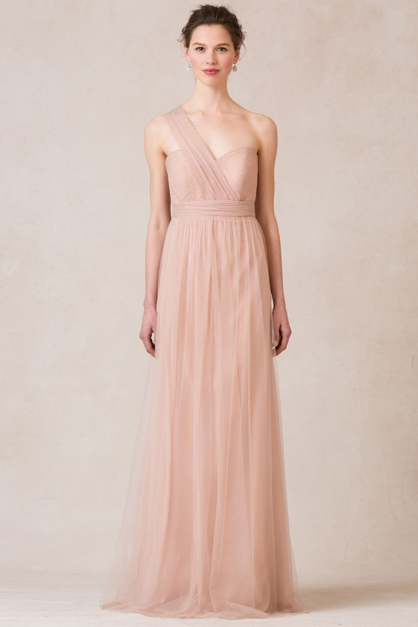 Jenny Yoo Annabelle Cameo Pink Soft Tulle $380