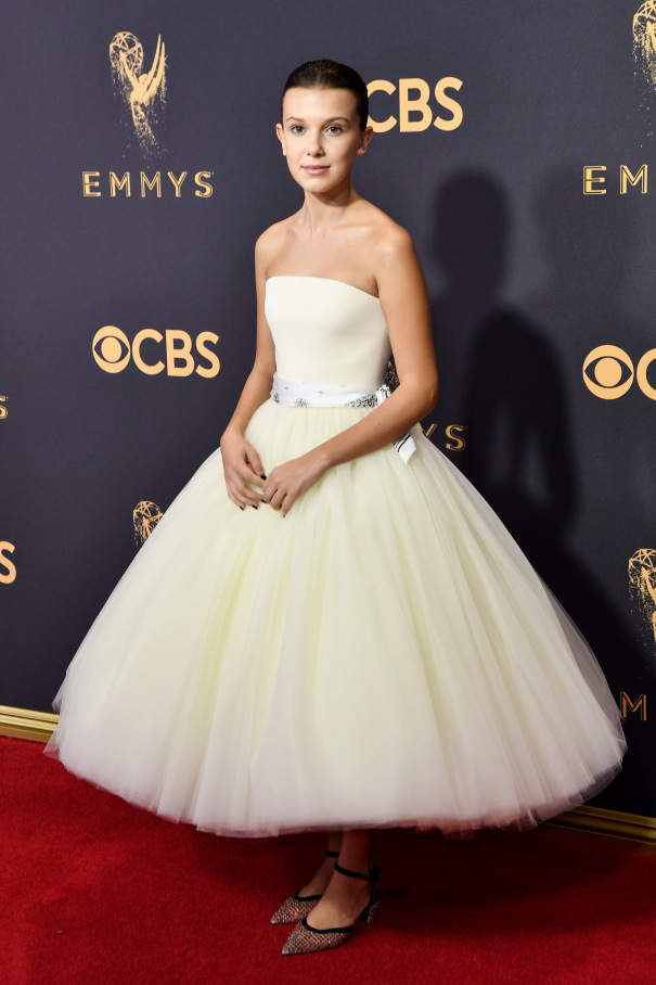 Millie Bobby Brown Emmys 2017