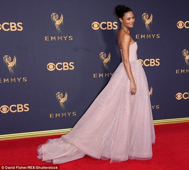 Thandi Newton Emmys 2017