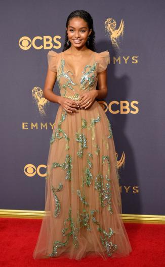 Yara Shahidi Emmys 2017