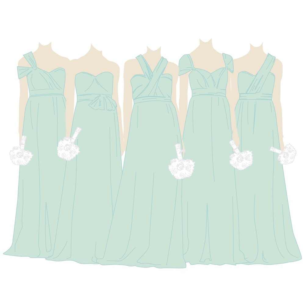 The Annabelle Convertible Bridesmaid Dress - By Jenny Yoo