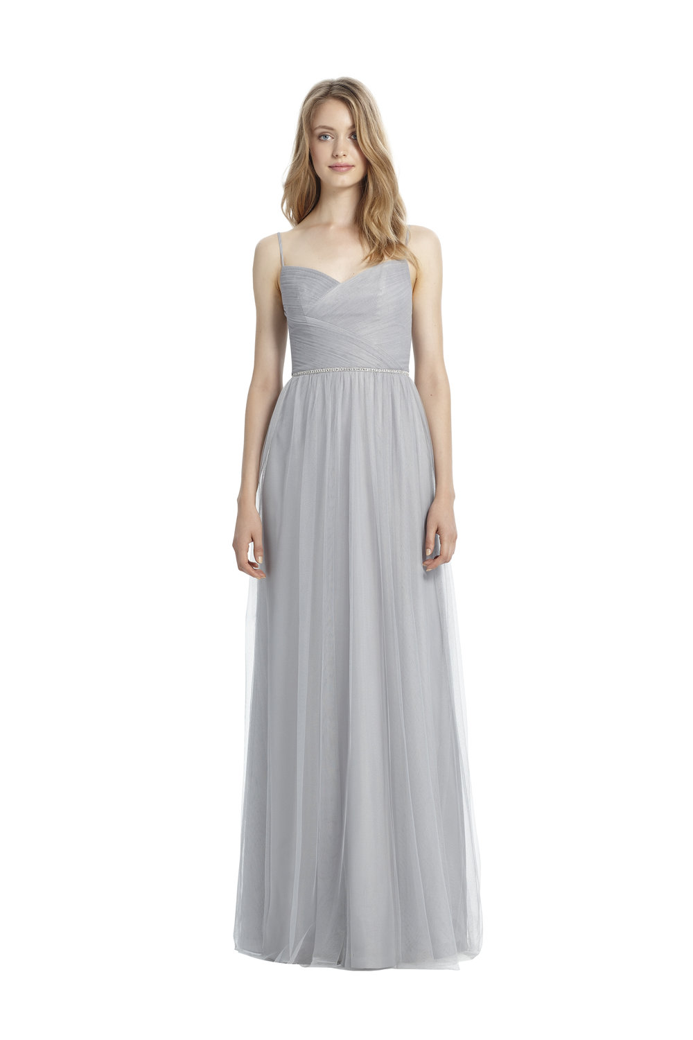 Monique Lhuillier 'Skyler' in Dove Tulle -