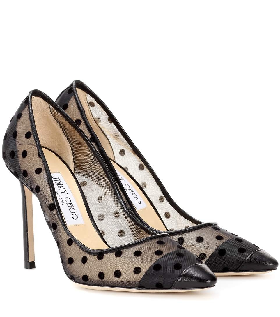 Polka Dot  - Jimmy Choo