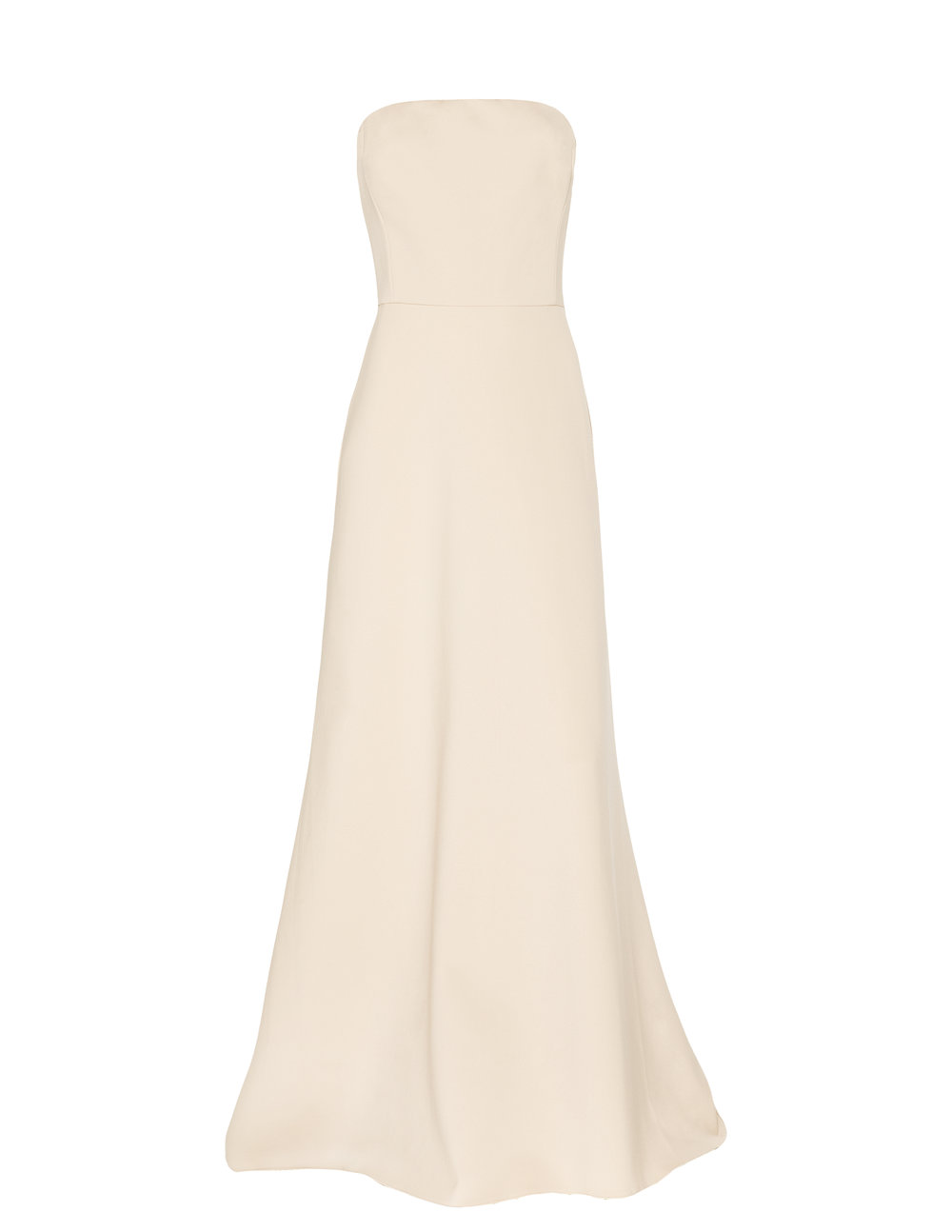 Monique Lhuillier 450497 Blush Stretch Crepe