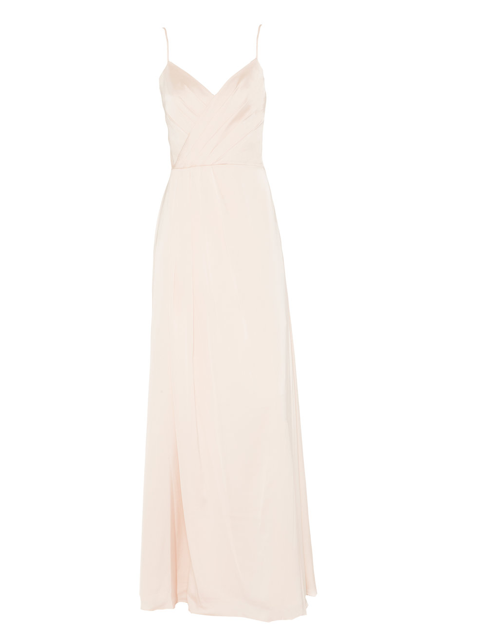 Monique Lhuillier 450496 Blush Sateen