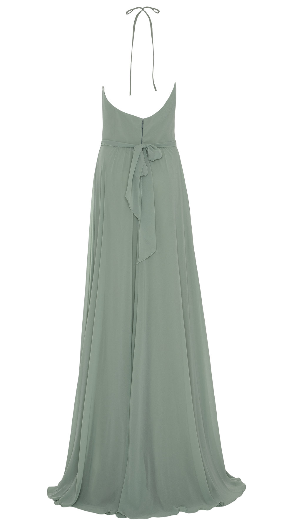 Old Fashioned Amsale Chiffon Bridesmaid Dress Component - All ...
