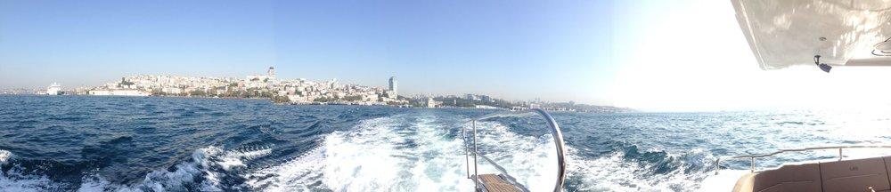 The Bosphorus,Istanbul.