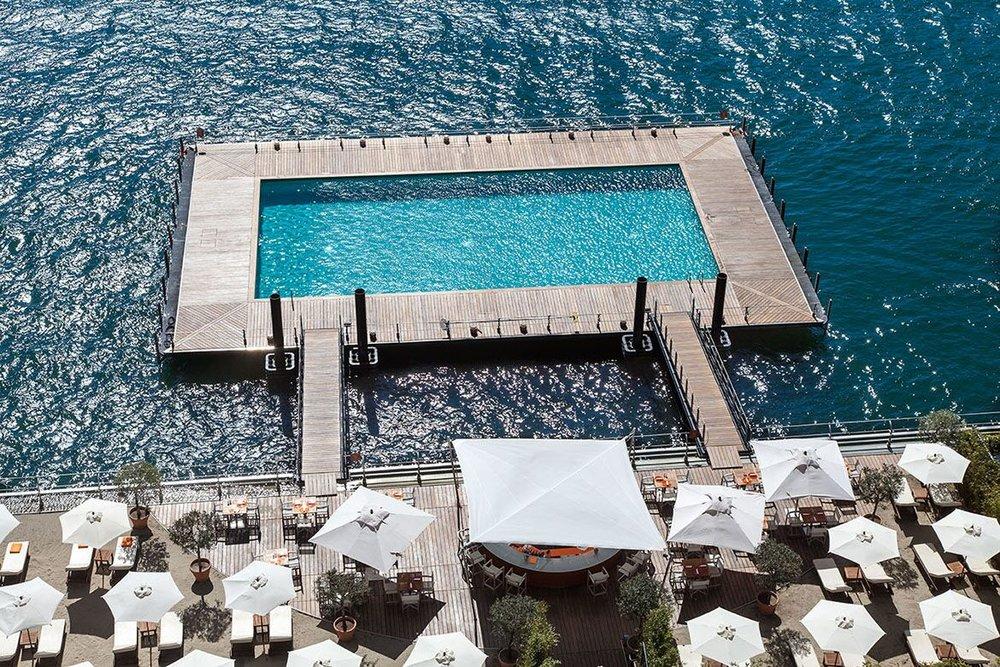 The Grand Hotel Tremezzo Pool