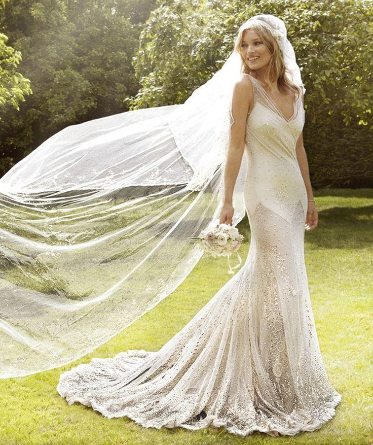 Kate moss wedding dress