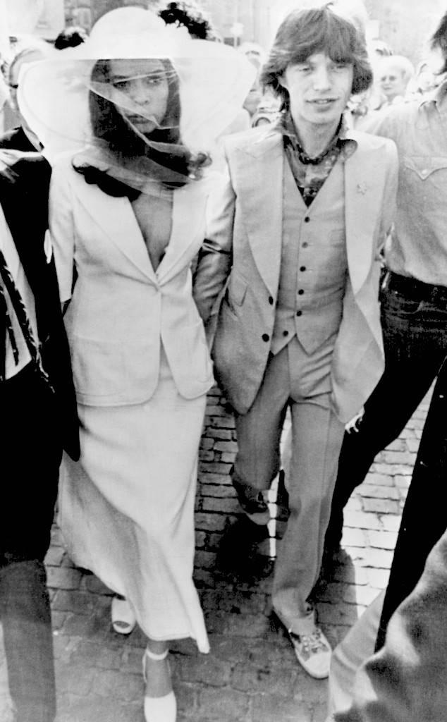 binaca jagger wedding dress
