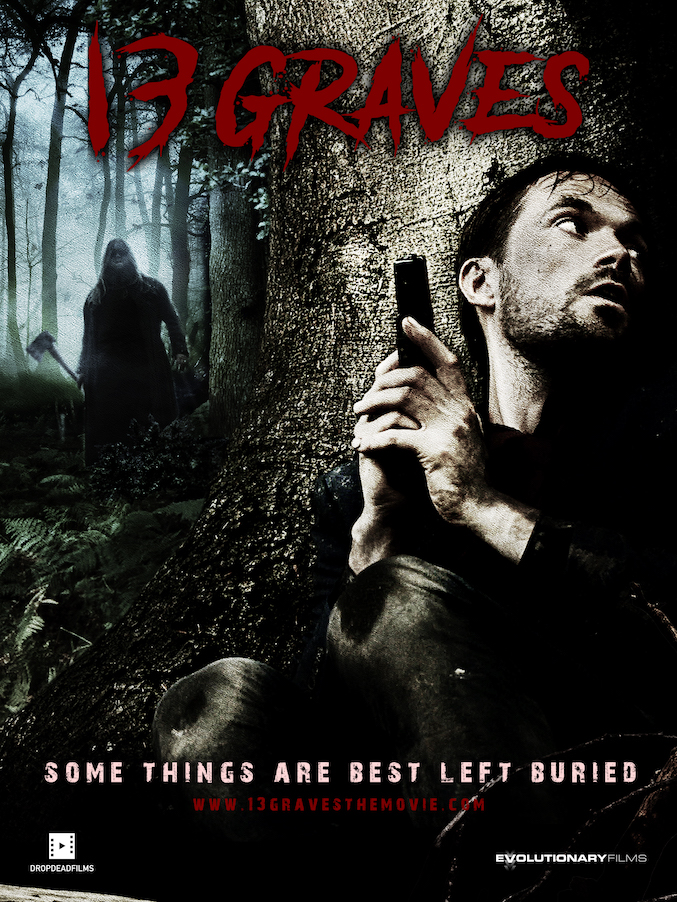 Simon was called in as 2nd Unit Director on location in Sussex for John Langridge's supernatural horror-thriller, '13 Graves'.