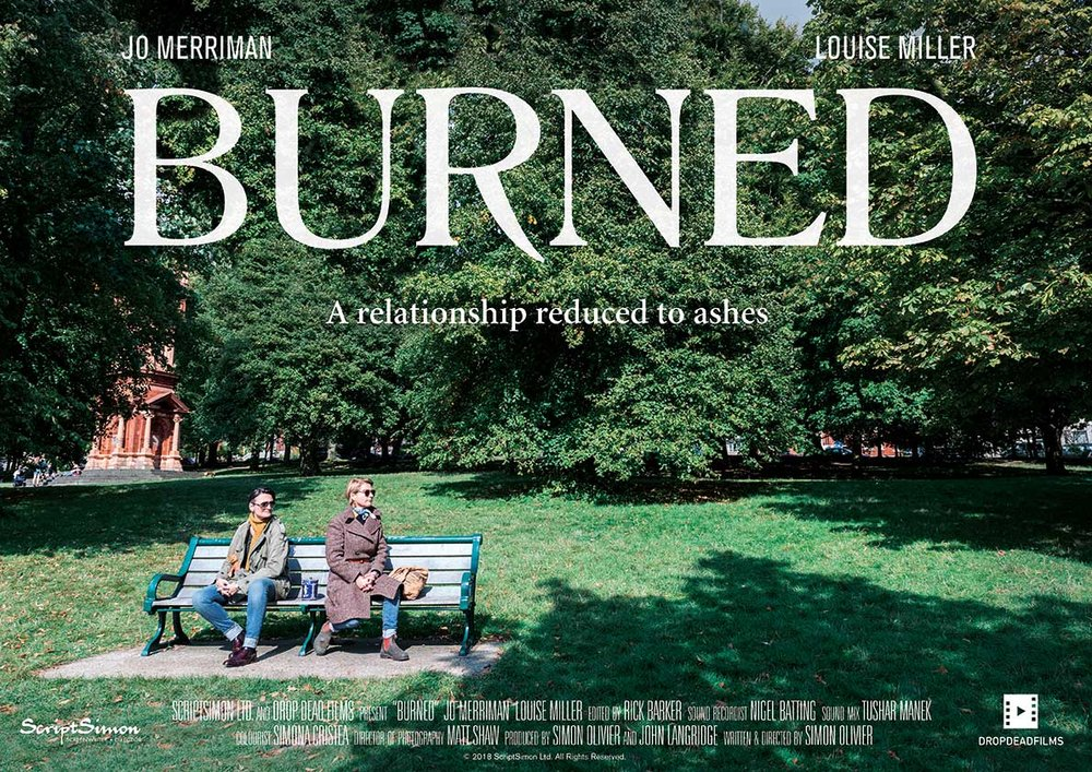 'Burned'. Short film, 2018. Written, Produced & Directed by Simon Olivier.