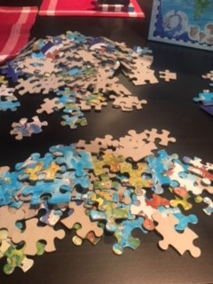One of many puzzles I used to distract myself and avoid writing the book.