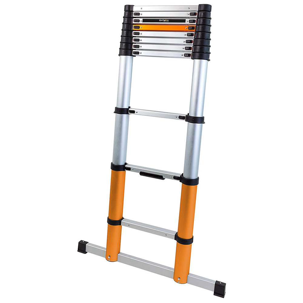 Compact Ladders - Collapsable ladders with stabiliser.Extended Height: 3.25mClosed Height: 0.8mRungs: 10