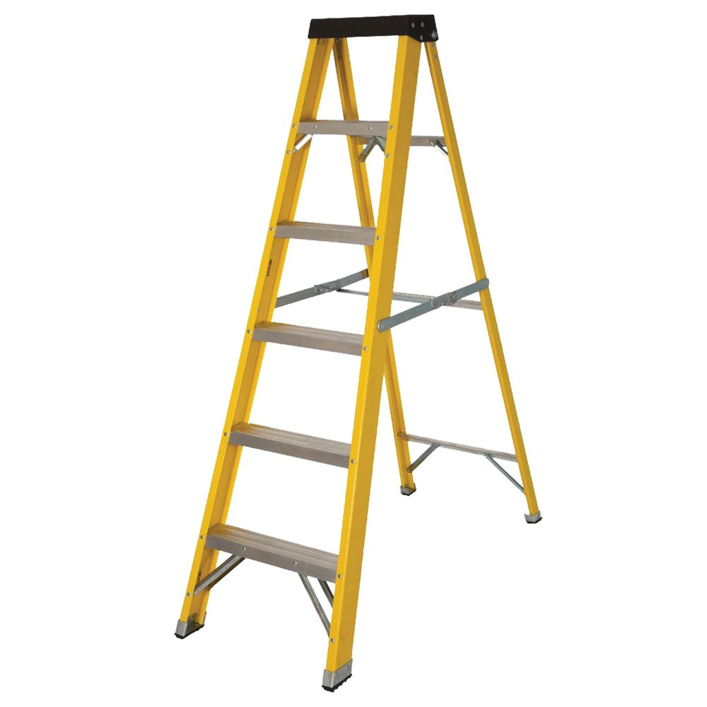 Folding Ladders - Folding ladders.Height: 2.59mRungs: 5