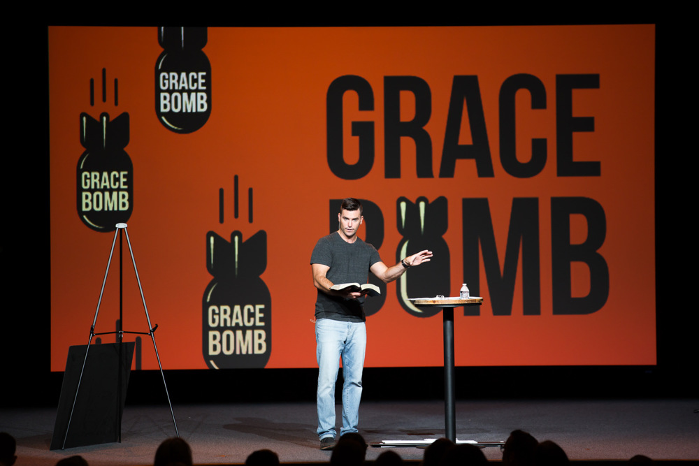 BRING GRACE BOMB TO YOUR CHURCH  -