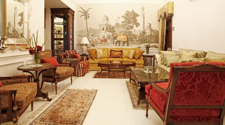 Classic Interior Design By Sita Nanda (Drawing Room)
