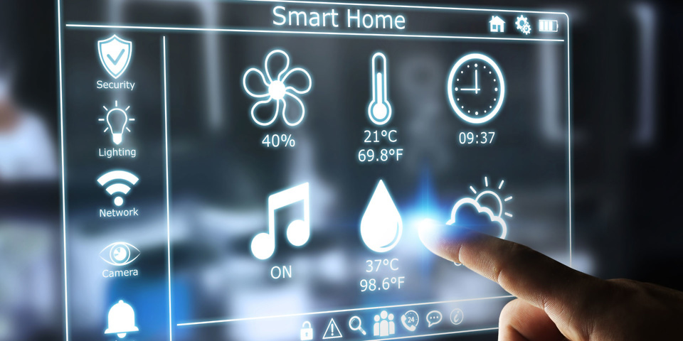Smart Home Design, Including Smart Lighting And Home Automation.