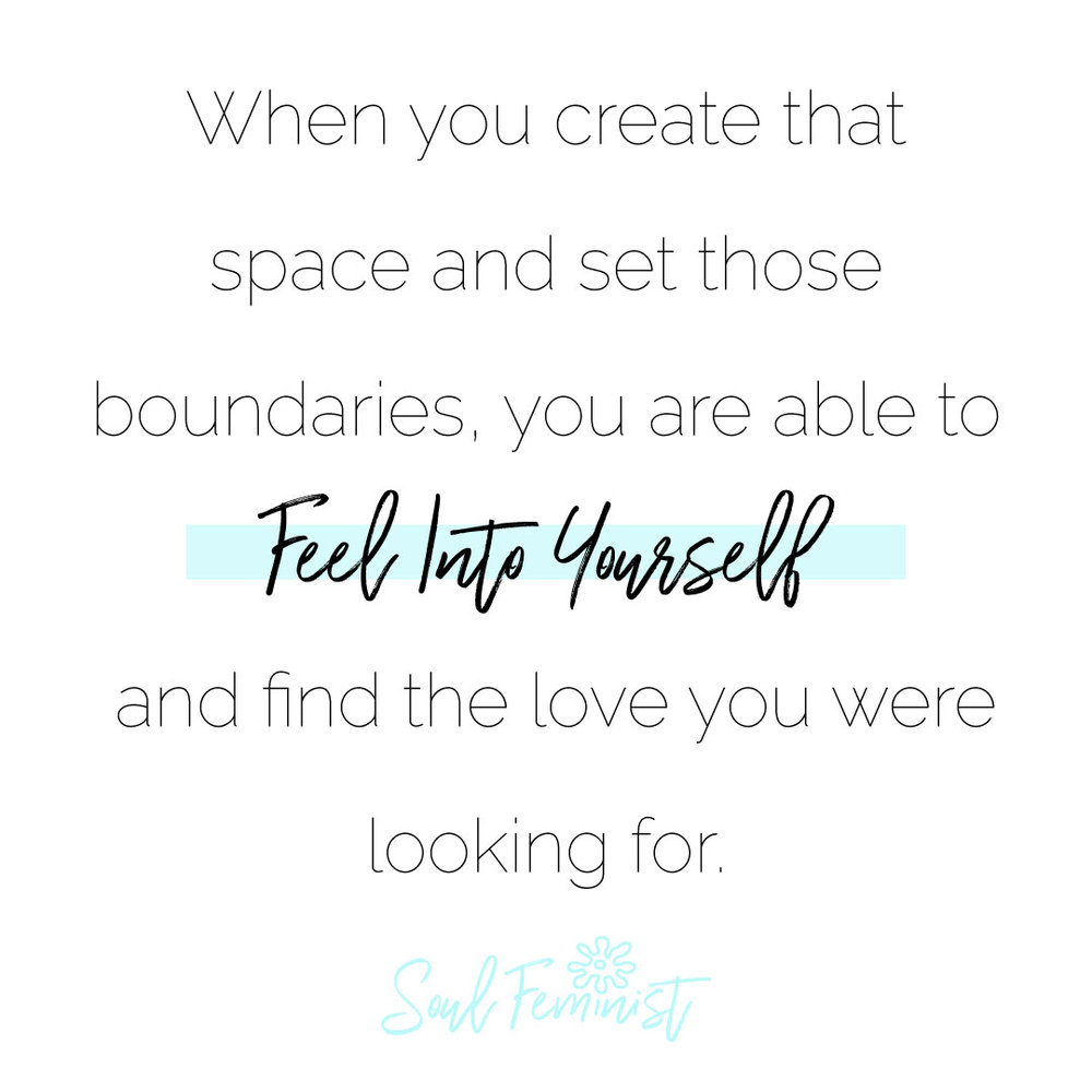 Reclaiming Your Time: How to Set Healthy Boundaries Feel Into Yourself