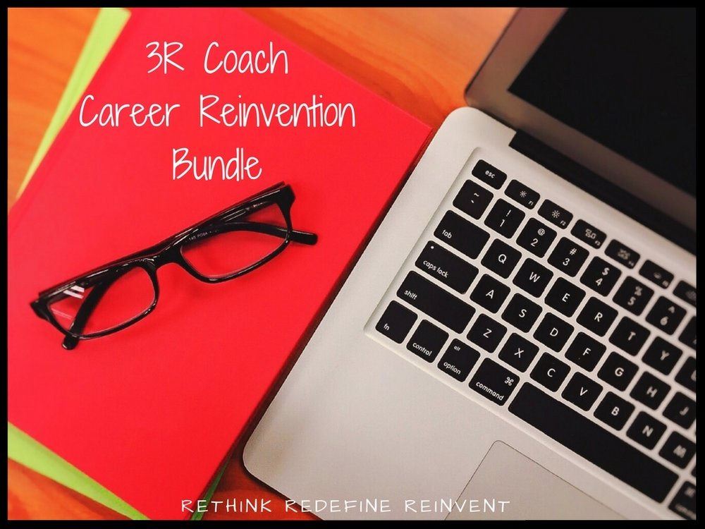 Get started now on reinventing your career!  - Purchase the career reinvention course for $279