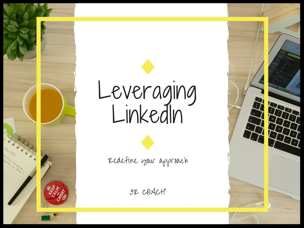Leveraging LinkedIn - You will learn:How to use SlideShare to make your profile stand outHow to brand yourself on LinkedInHow to use LinkedIn to find jobs and companies that align with your best skillsHow to explore LinkedIn LearningLinkedIn Tips & TricksAttachments include: module notes, LinkedIn job search checklist, personal marketing plan, common job function to help with your job search.