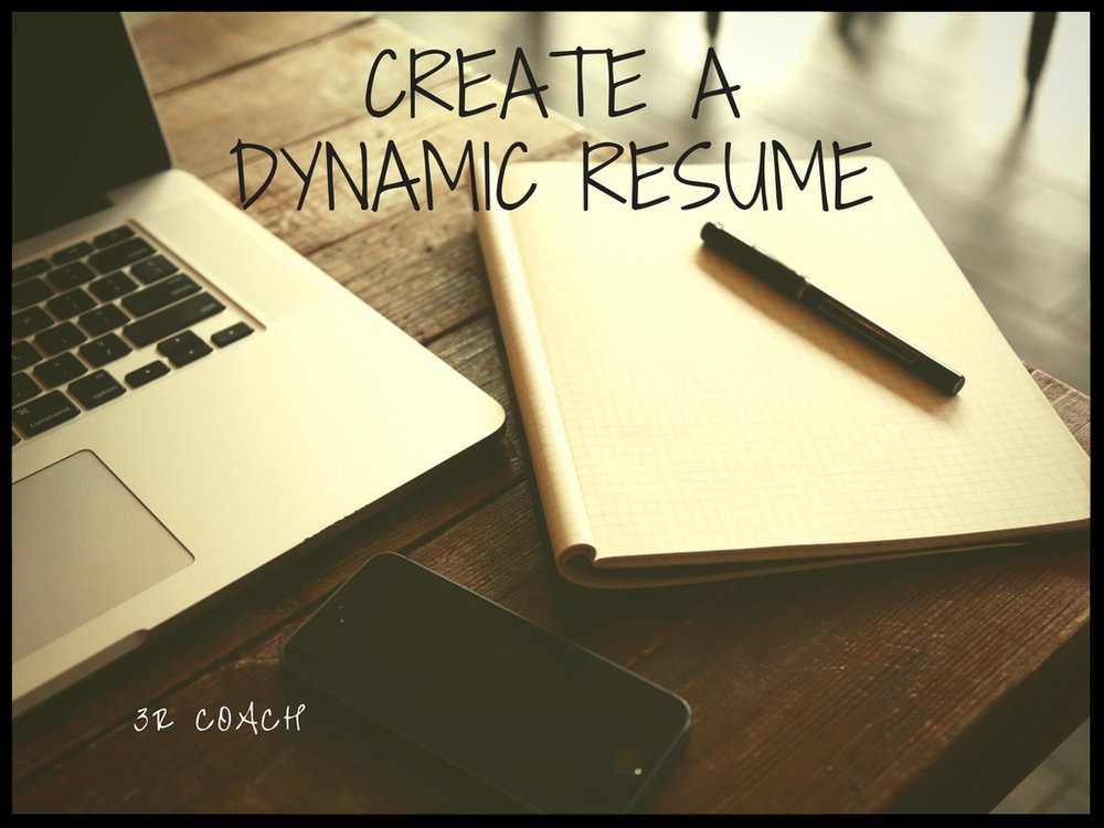Create A Dynamic Resume  - You will learn:The do's & don'ts of resume writingFour types of resumes you can useHow to create a summary that passes the 6-Second testEmphasizing your career accomplishments with power verbsHow to highlight your  top skills Navigating the Applicant Tracking Systems (ATS)Resources for resume downloades, job searching & making your resume stand out Creating a cover letter