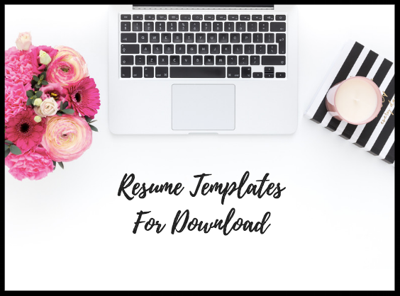 Get Resume Templates - Download my modern style resume templates & matching cover letters to help you stand out as a candidate.