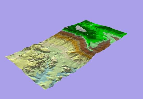 Beidha Elevation Model oblique.jpg