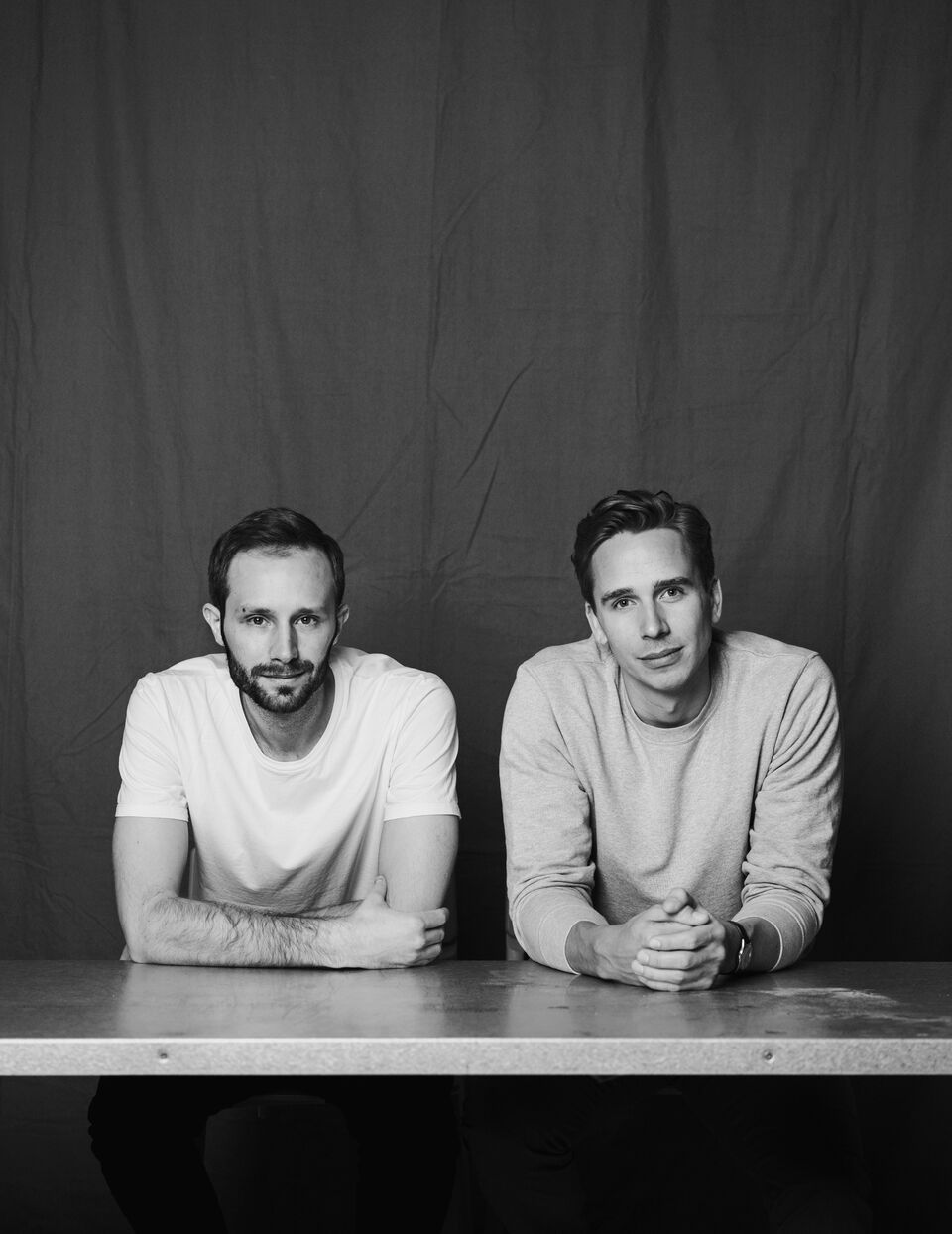 ASKET founders August Bard Bringéus and Jakob Dworsky